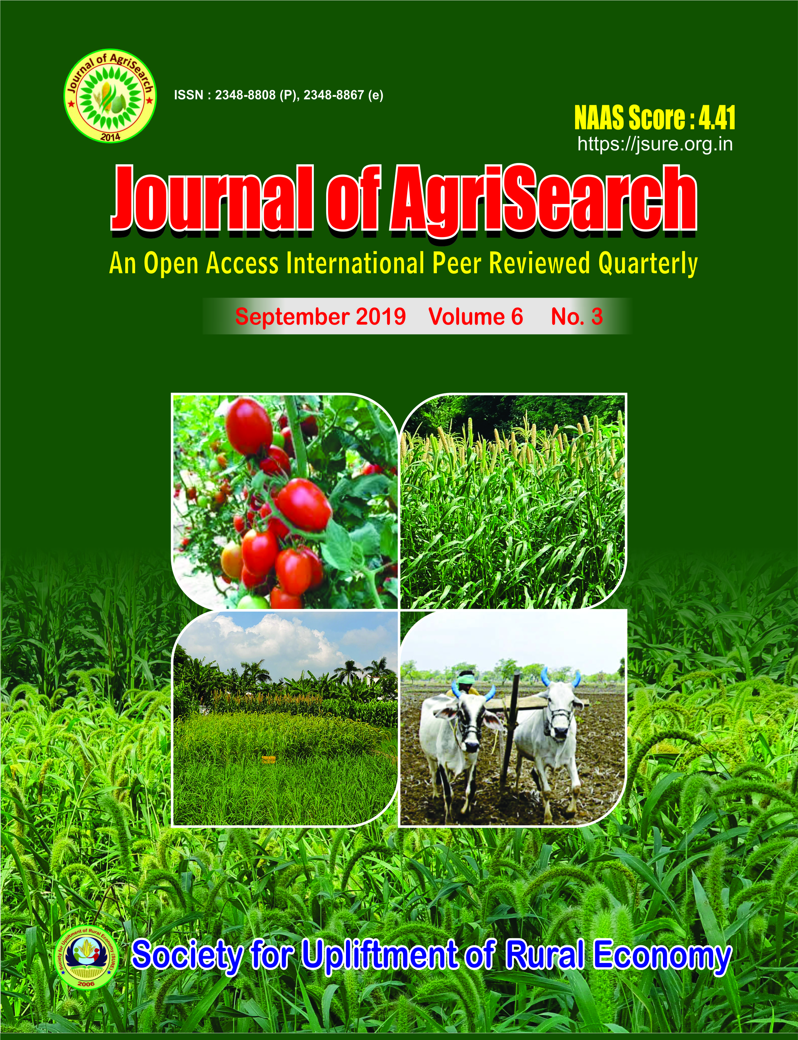 Journal of AgriSearch